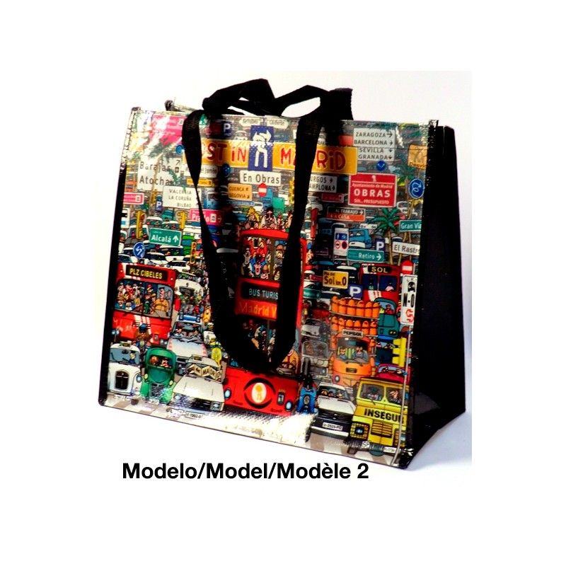 "Bolsa de la compra ""Madrid"""