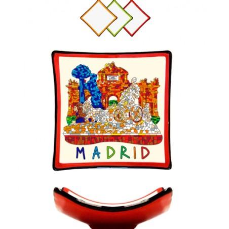 """Dish """"Madrid"""" Trencadis"""