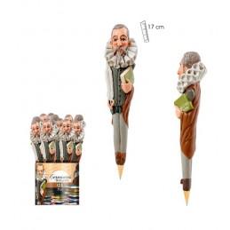 """Bolígrafo """"Don Miguel de Cervantes"""" 3D"""