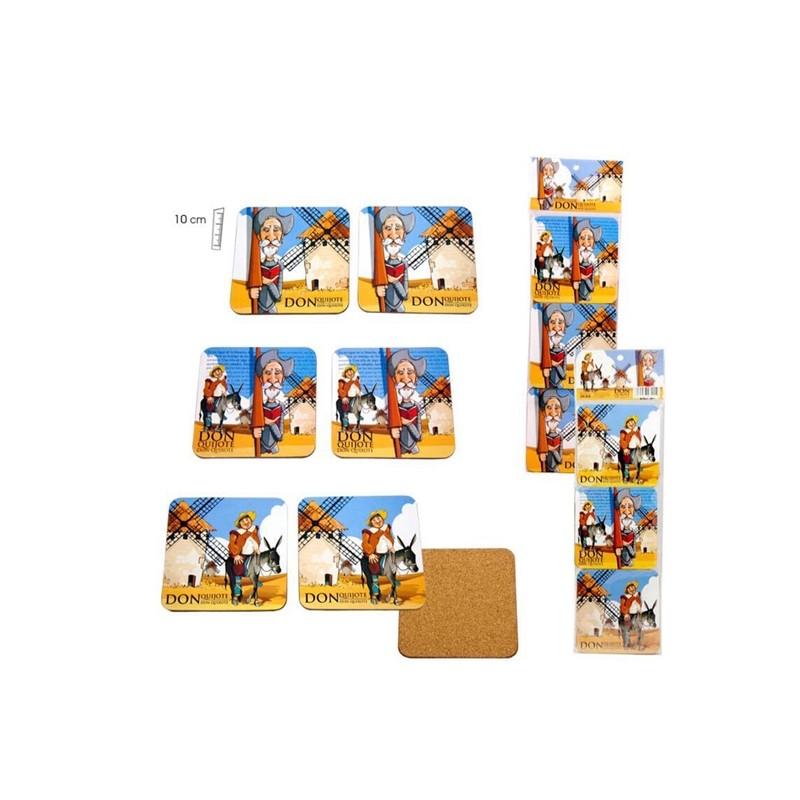 """Coasters """"Don Quixote de la Mancha"""""""