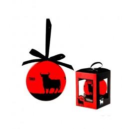 """Toro de Osborne"" Christmas balls"
