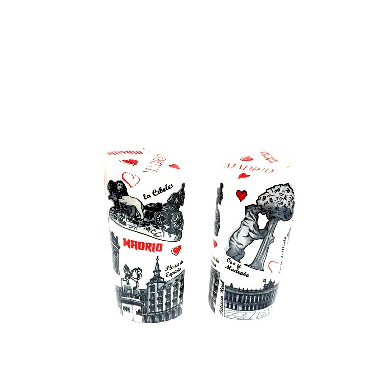 """""""Salt and Pepper"""" set, Souvenirs from Madrid"""