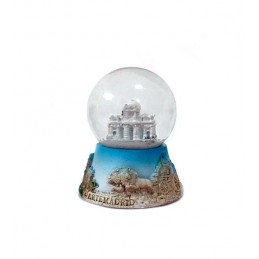 Madrid monuments snowball