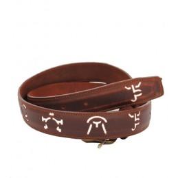 Cinturón taurino de hierros de ganadería