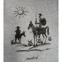 """""""Don Quixote and Sancho"""" adult  t-shirt"""