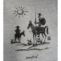 "Tee Shirt ""Don Quichotte et Sancho"" adulte"