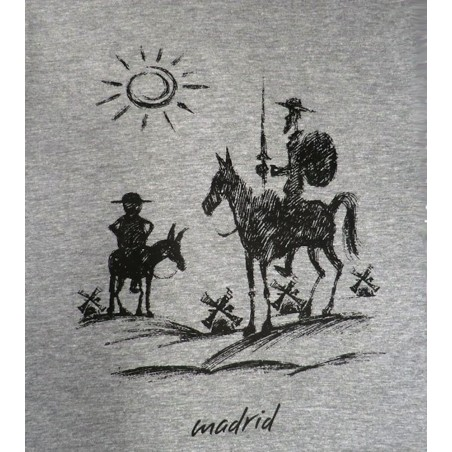 """Don Quixote and Sancho"" adult  t-shirt"