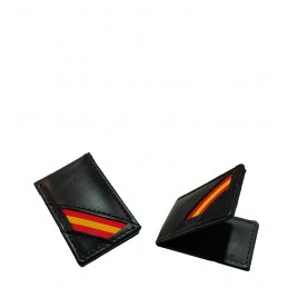 Money clip with the flag of Spain