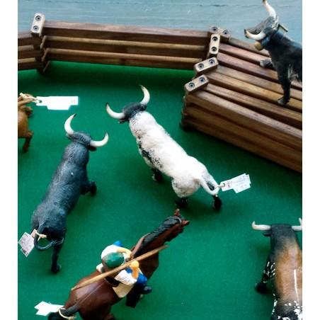 Vallado para toros de juguete