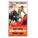 Poster taureaux personnalisés avec un nom