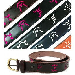 Livestock branding irons bullfighting belt