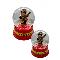 """Bullfighting and flamenco"" Crystal Snowball"