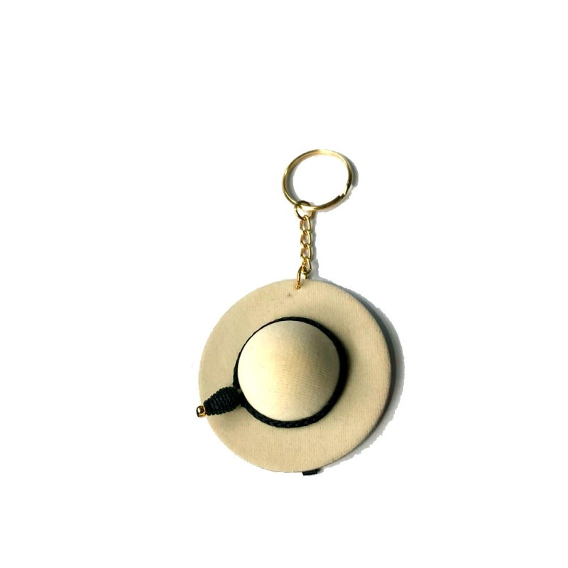 Bullfighting keychain castoreño hat