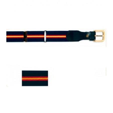 Spain flag elastic belt for man