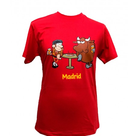 """Bull and Matador aperitive"" adult T-shirt"