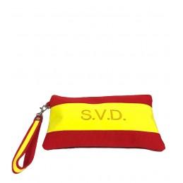 "Personalized  ""Flag of Spain""  handbag, purse or Clutch"