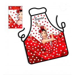 """Spain and Flamenco"" Kitchen apron"