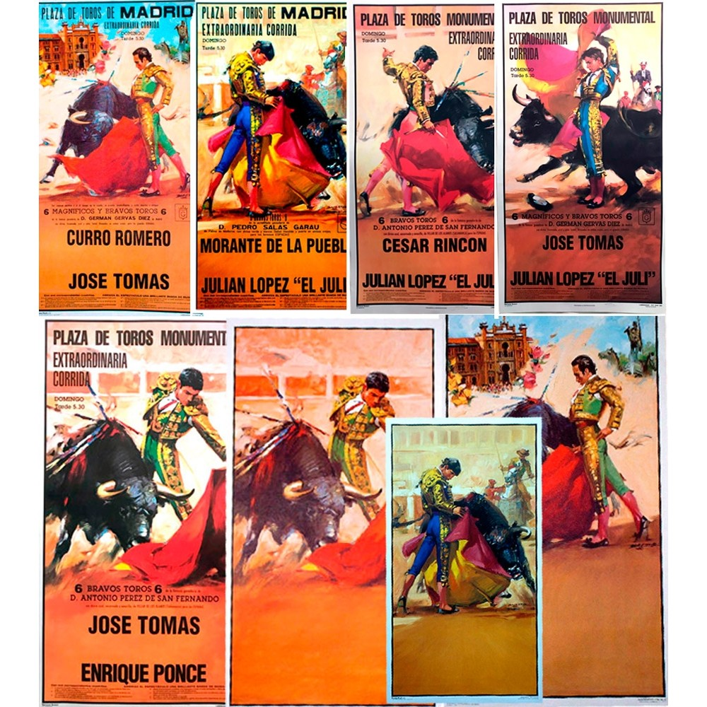 Bullfight posters