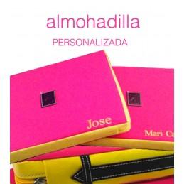"""Almohadilla taurina """"Capote"""" personalizada"""