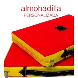 "Almohadilla taurina ""Muleta"" personalizada"