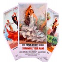 Cartel de flamenco personalizable