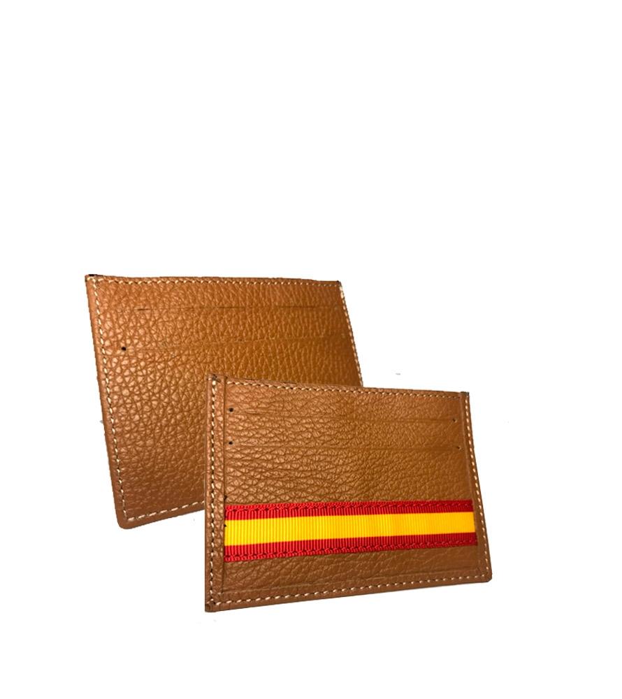 mignonne offre spéciale dernière sélection Cadeaux avec le drapeau de l'Espagne, porte cartes en cuir l ZiNGS