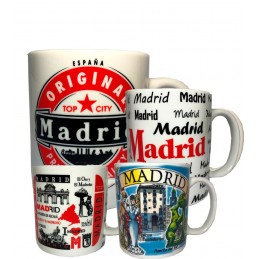 "Taza ""Madrid Souvenirs"""