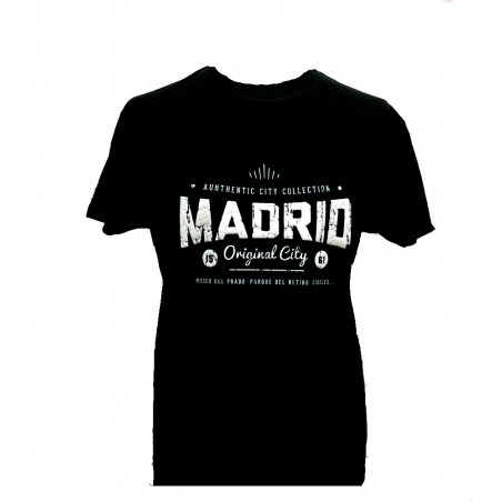 """Original Madrid City"" T-shirt for adult"