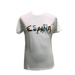 "T-shirt ""España original"" adulte"