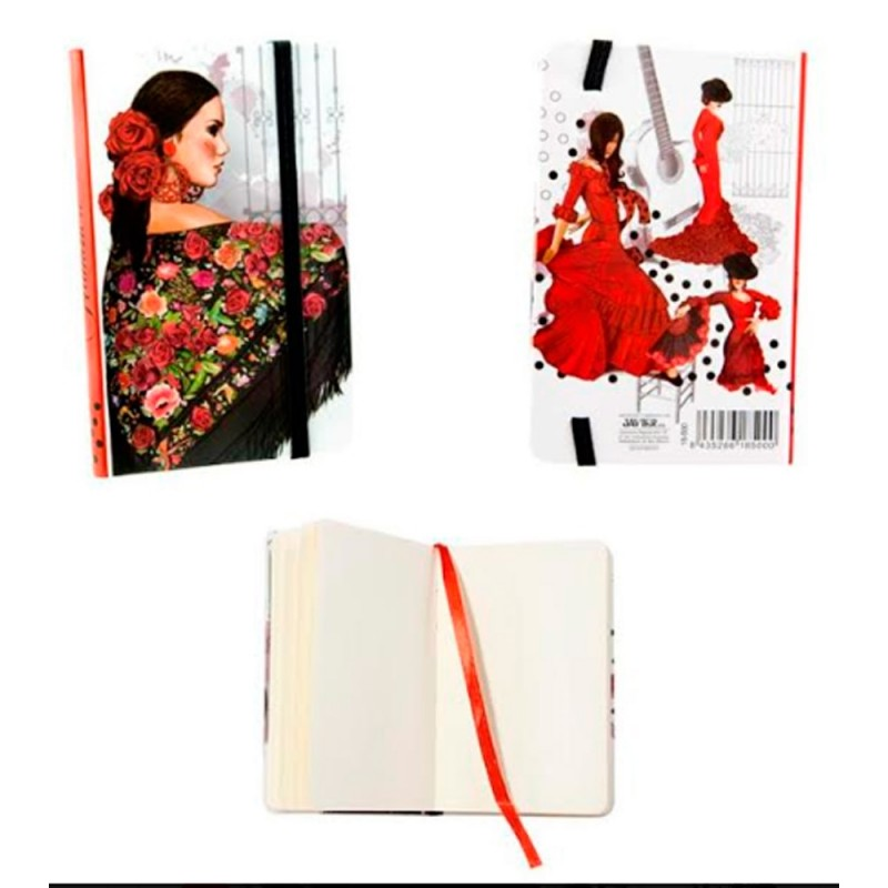 "Notebook ""Flamenco dancer"""