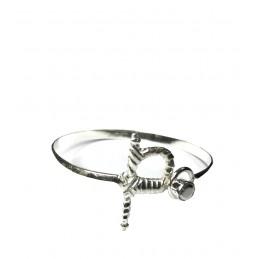 "Bracelet argent ""Estoque"""
