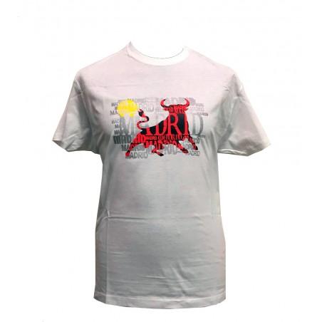 """Camiseta """"Toro Madrid"""" adulto"""