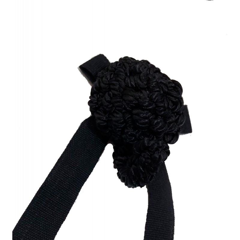 Castañeta or matador's hairpiece