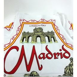 "Kitchen apron ""Souvenir from Madrid"""