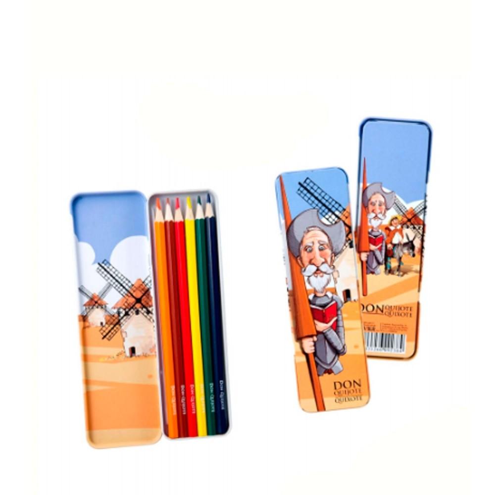 """Box of colored pencils """"Don Quixote de la Mancha"""""""