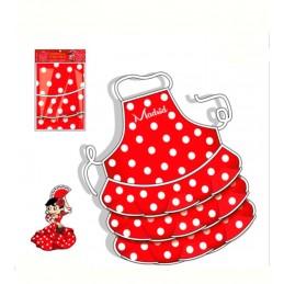 """Flamenco dancer"" Children kitchen apron"