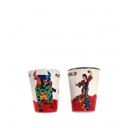 Vaso de chupito Flamenca Trencadís