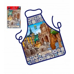 Apron souvenir of Madrid