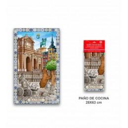 "Paño de cocina ""Souvenirs de Madrid"""