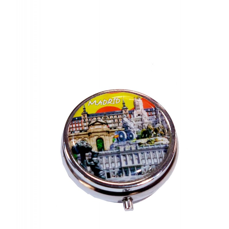 "Pillbox ""Souvenirs of Madrid"""