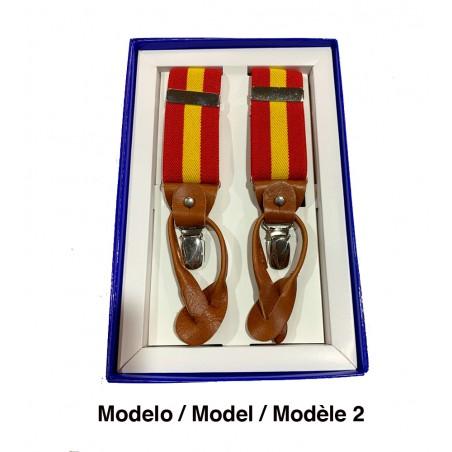 Tirantes de bandera de España