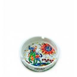 "Ashtray ""Bull & Sun mosaic"" Trencadis"