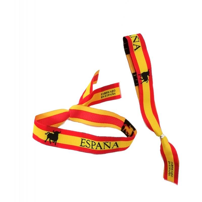 """Bracelet """"Flag of Spain and Bull"""""""