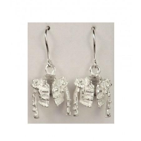 Silver Earrings Toreador Jacket