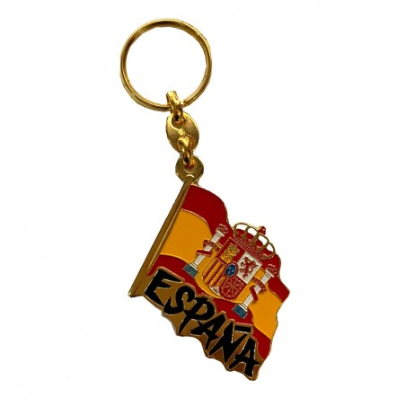 Spain keychain