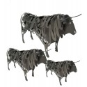 Wrought iron Bull Figure