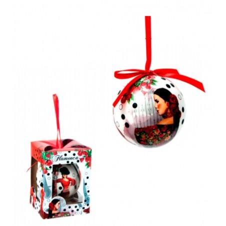 """""""Flamenco dancer"""" Christmas Ball"""