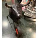 Bull training car for children