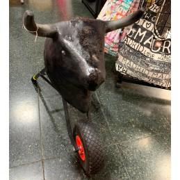 Carreton taureau pour enfants
