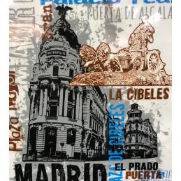 """T- Shirt """"Gran Vía"""" à Madrid"""